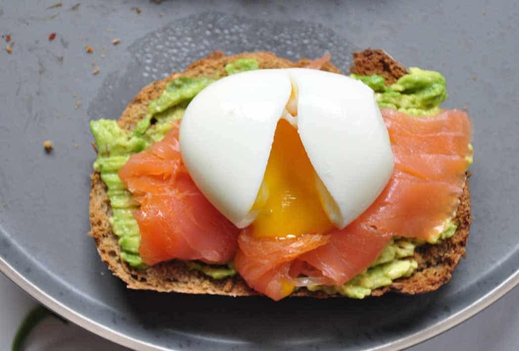 zalm met ei